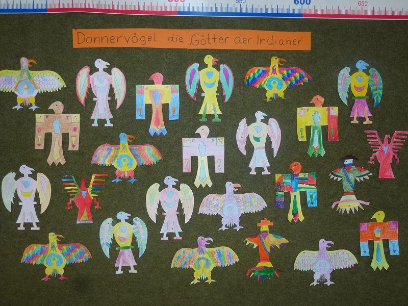 Bei den Indianern | Grundschule Everswinkel