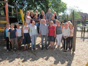 Das Kollegium der Grundschule Everswinkel im aktuellen Schuljahr 2016/17.