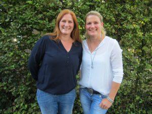 Nadine Fortriede (l) und Stefanie Püning wurden als Schulpflegschaftsvorsitzende gewählt.